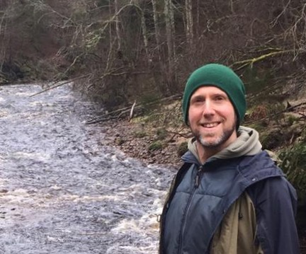 Outdoor educator Dan Puplett