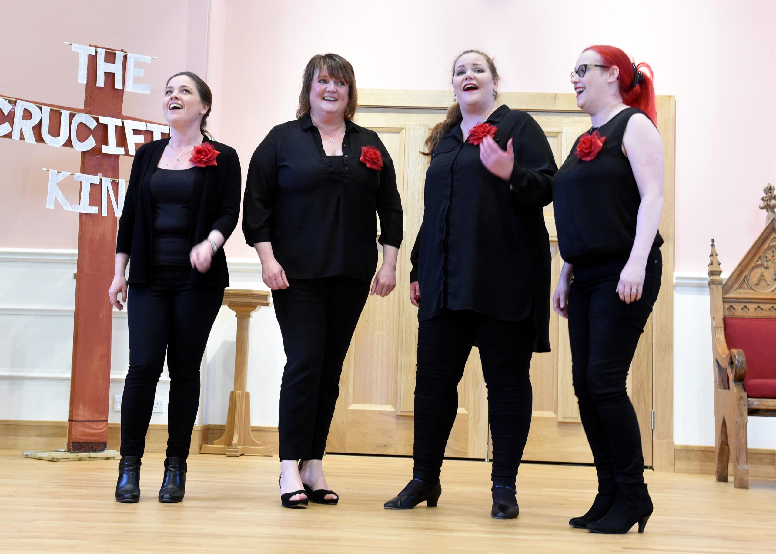 the COAST quartet at Mannofield Church.  Picture by Jim Irvine