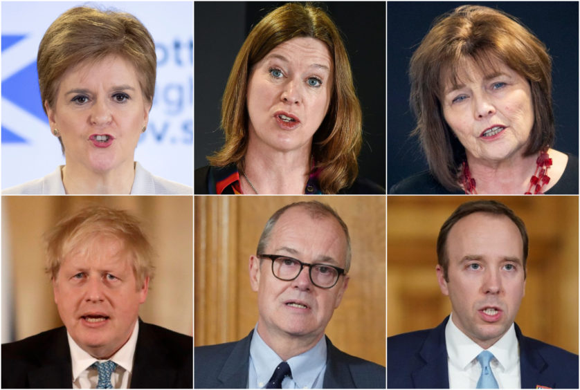The public have been receiving advice from the political and medical leaders in Scotland and the UK — leading, at times, to confusion or lack of clarity.