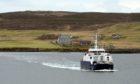 Leirna ferry, Lerwick.   Picture by Jim Irvine