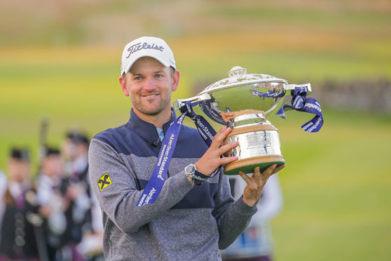 Last year's Scottish Open winner, Bernd Wiesberger.