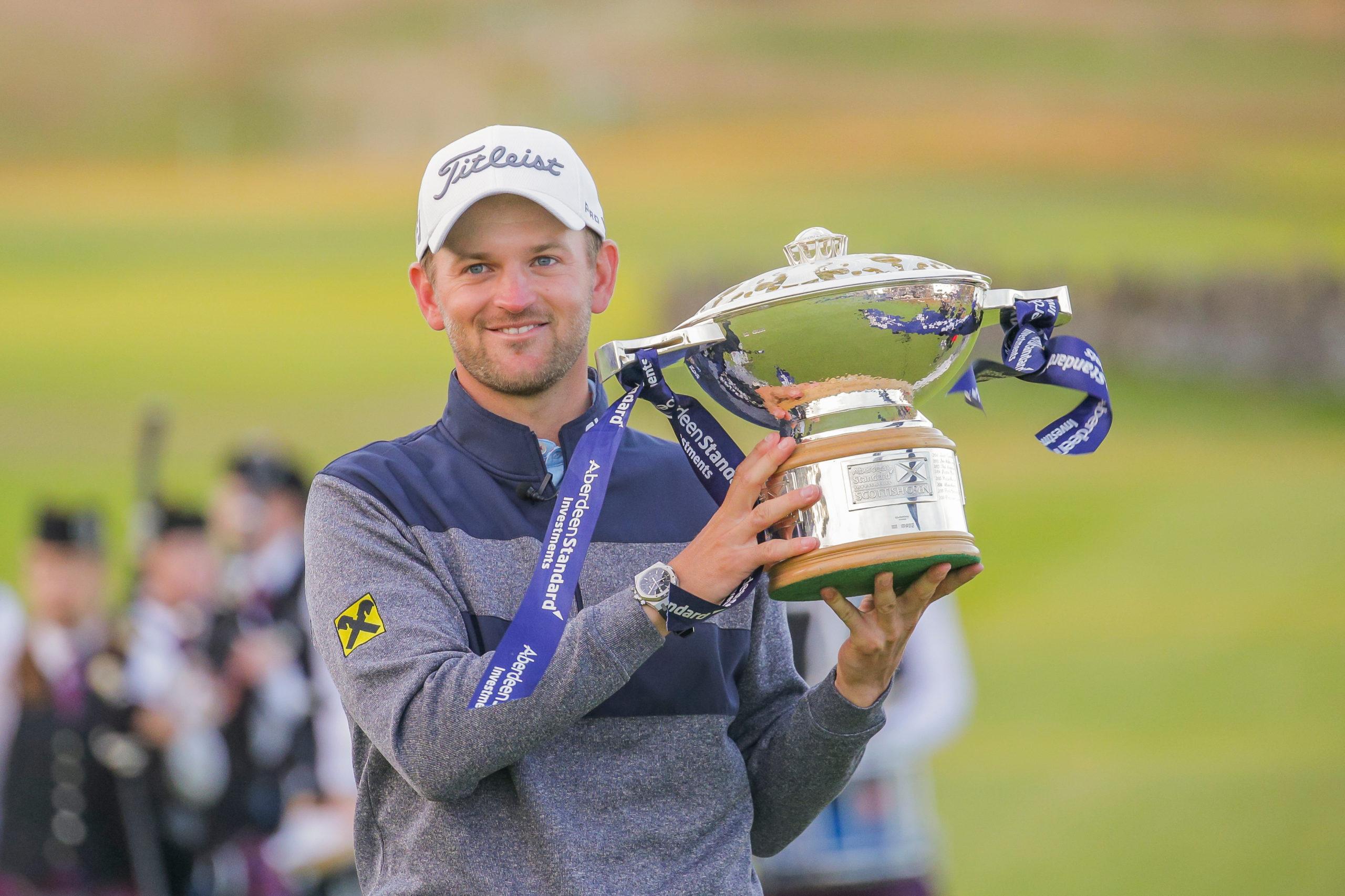 Last year's Scottish Open winner, Bernd Wiesberger.