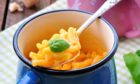 Macaroni in a mug is just one of the easy dishes you can create at home