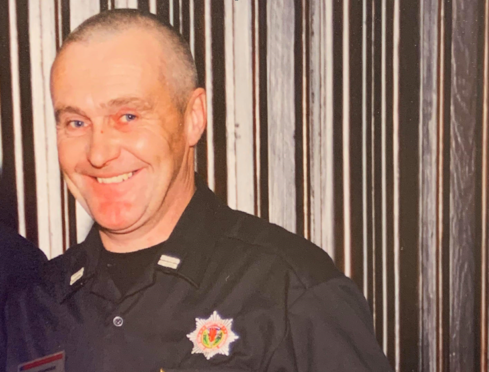 Stevie Kerridge was crew commander at Insch Community Fire Station.