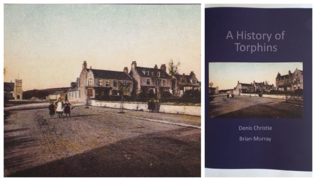 The book tells the history of Torphins
