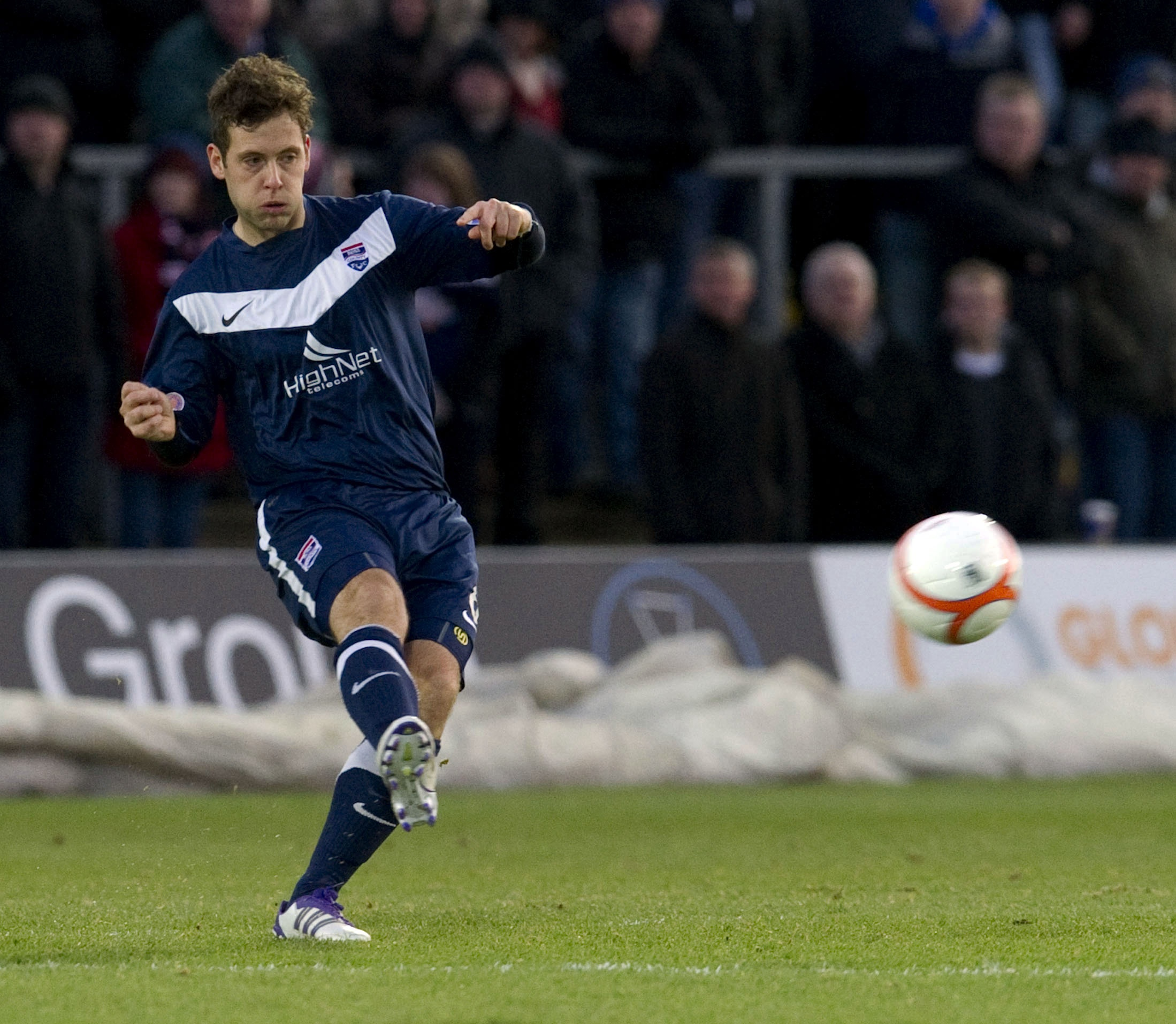 Paul Lawson in his Staggies days.