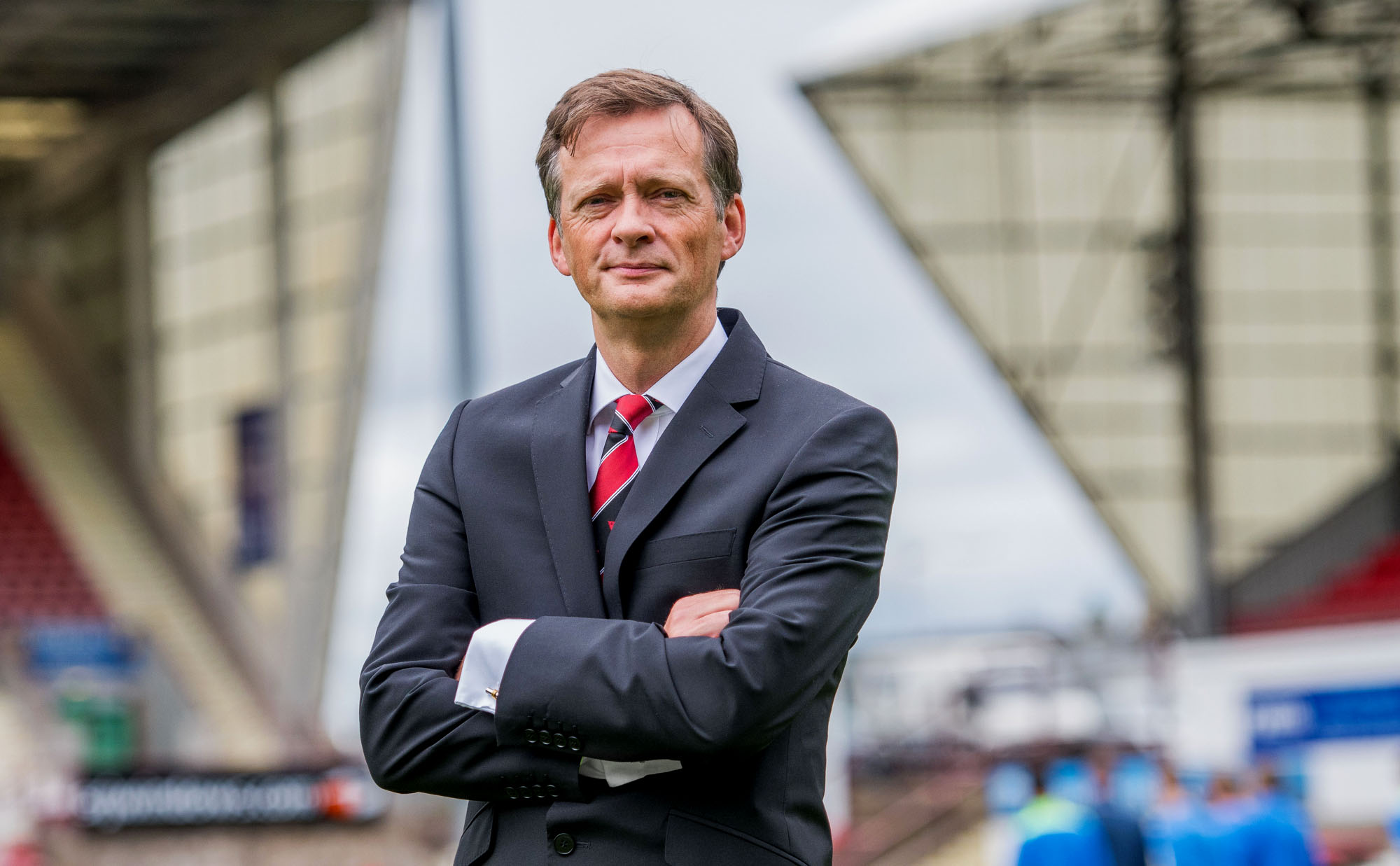 Dunfermline Athletic chairman Ross McArthur.