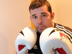 Kevin Brooks is coaching his boxing students online during lockdown