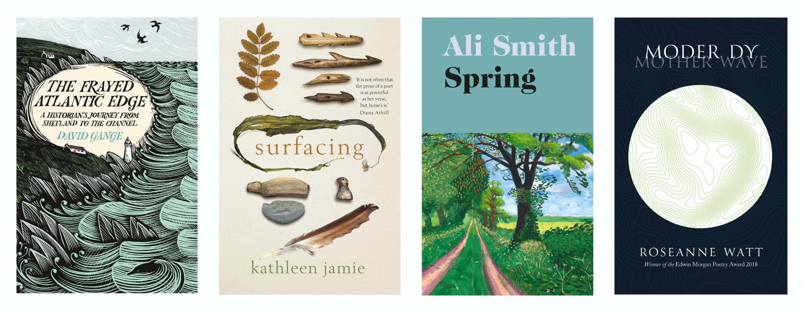 The four 2019 Highland Book Prize winners.