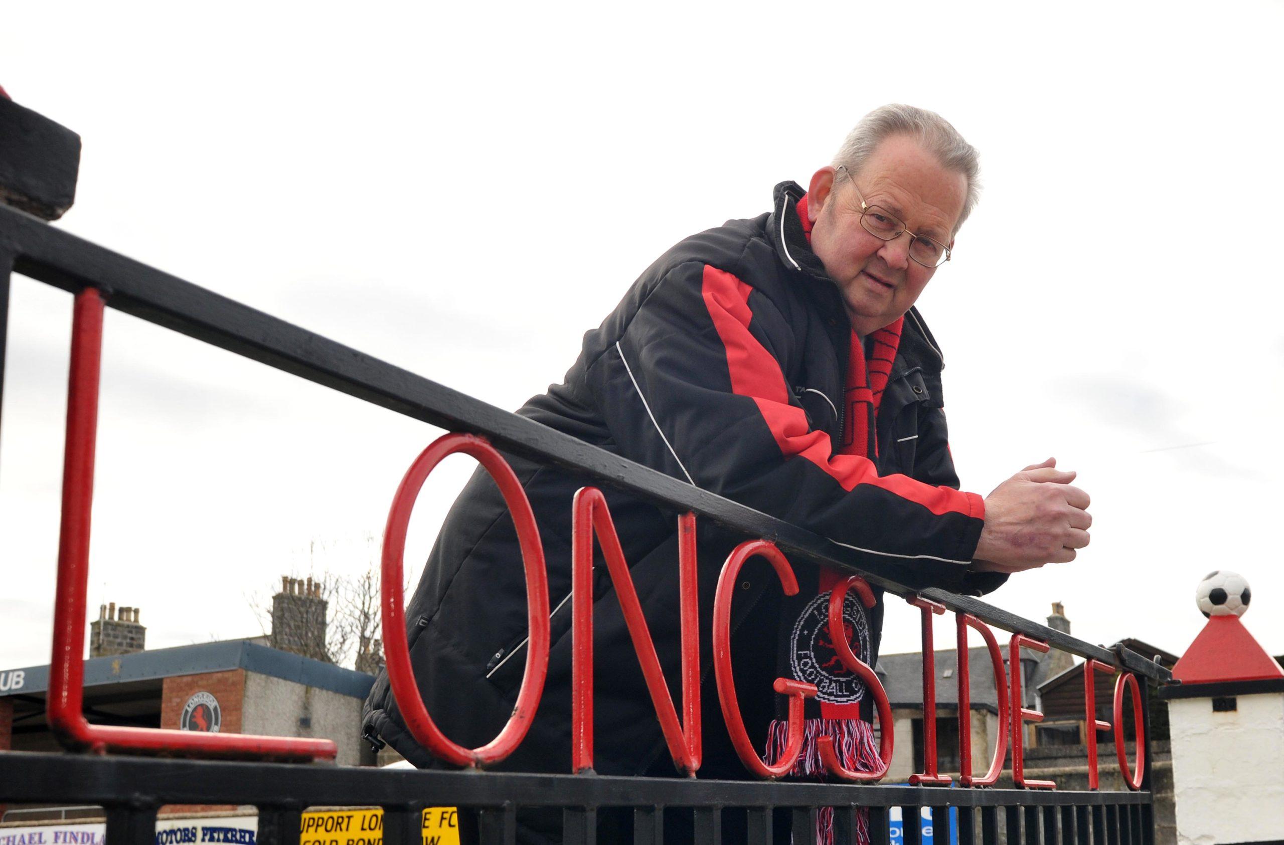 Former Longside FC secretary Alan Davidson.