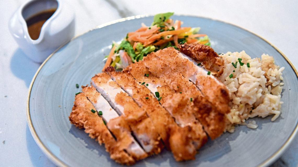 Ferryhill House Hotel's chicken Katsu