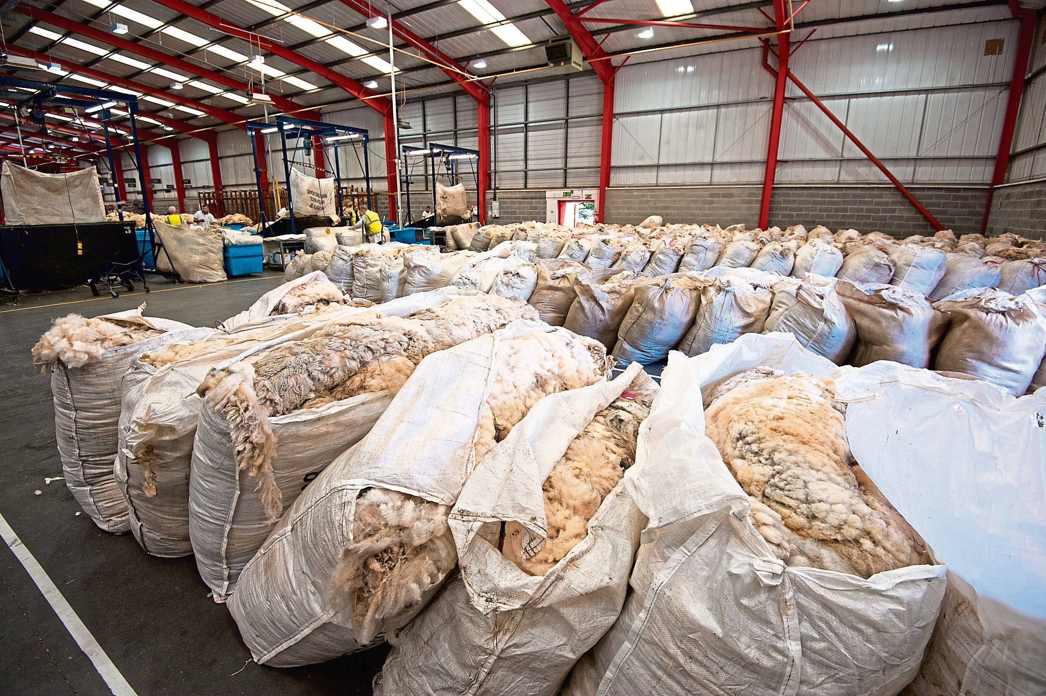 British Wool's depots and collections sites are ready to start receiving wool, and Covid-19 safety protocols are in place.