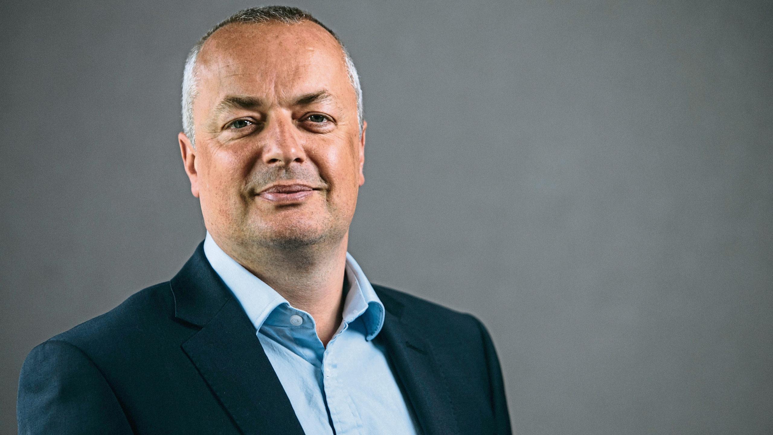 Managing Director of Bancon Homes, Allan Clow.