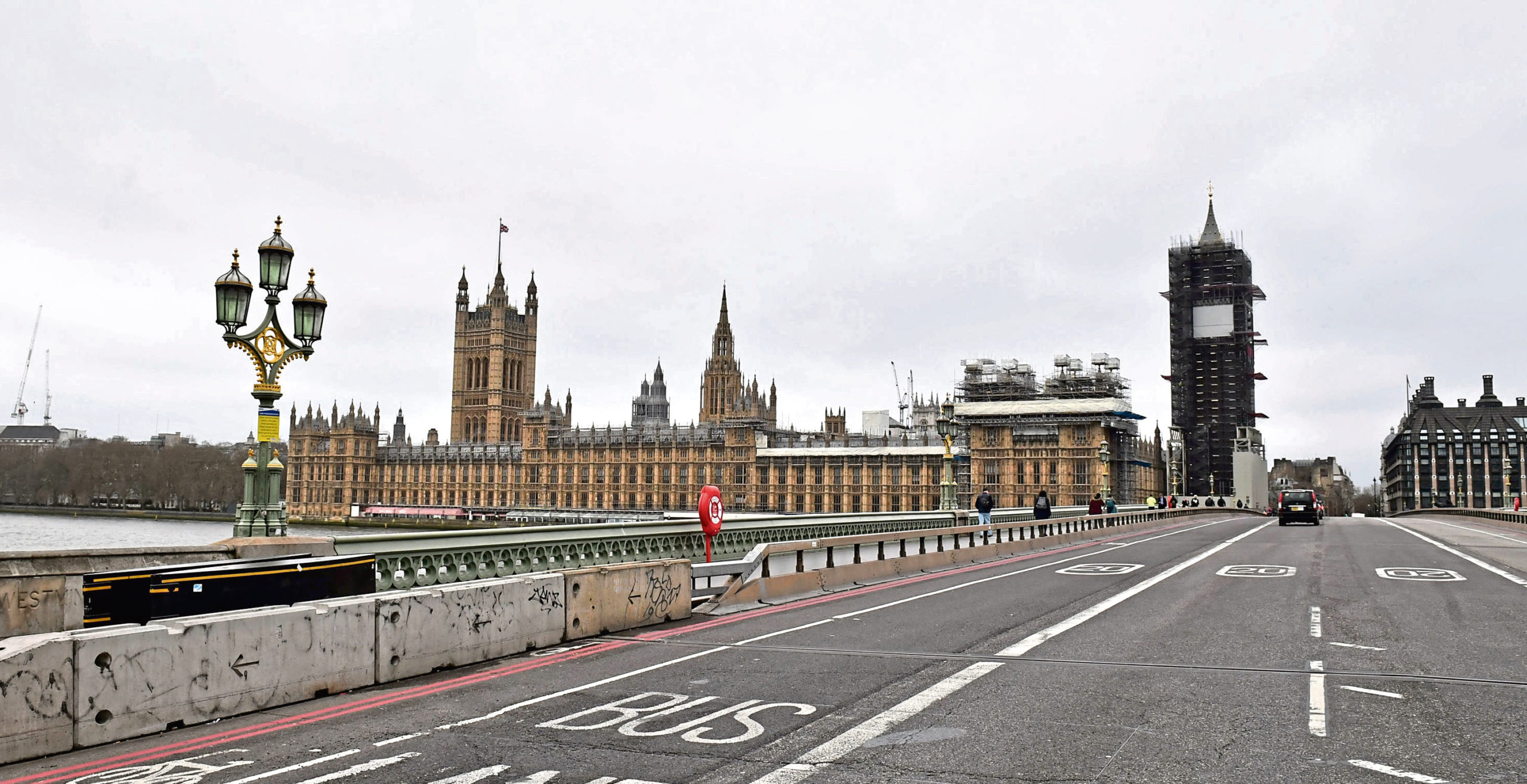 PABest  A very quiet Westminster Bridge, as the death toll from coronavirus in the UK reached 71 people. PA Photo. Picture date: Wednesday March 18, 2020. See PA story HEALTH Coronavirus. Photo credit should read: Dominic Lipinski/PA Wire