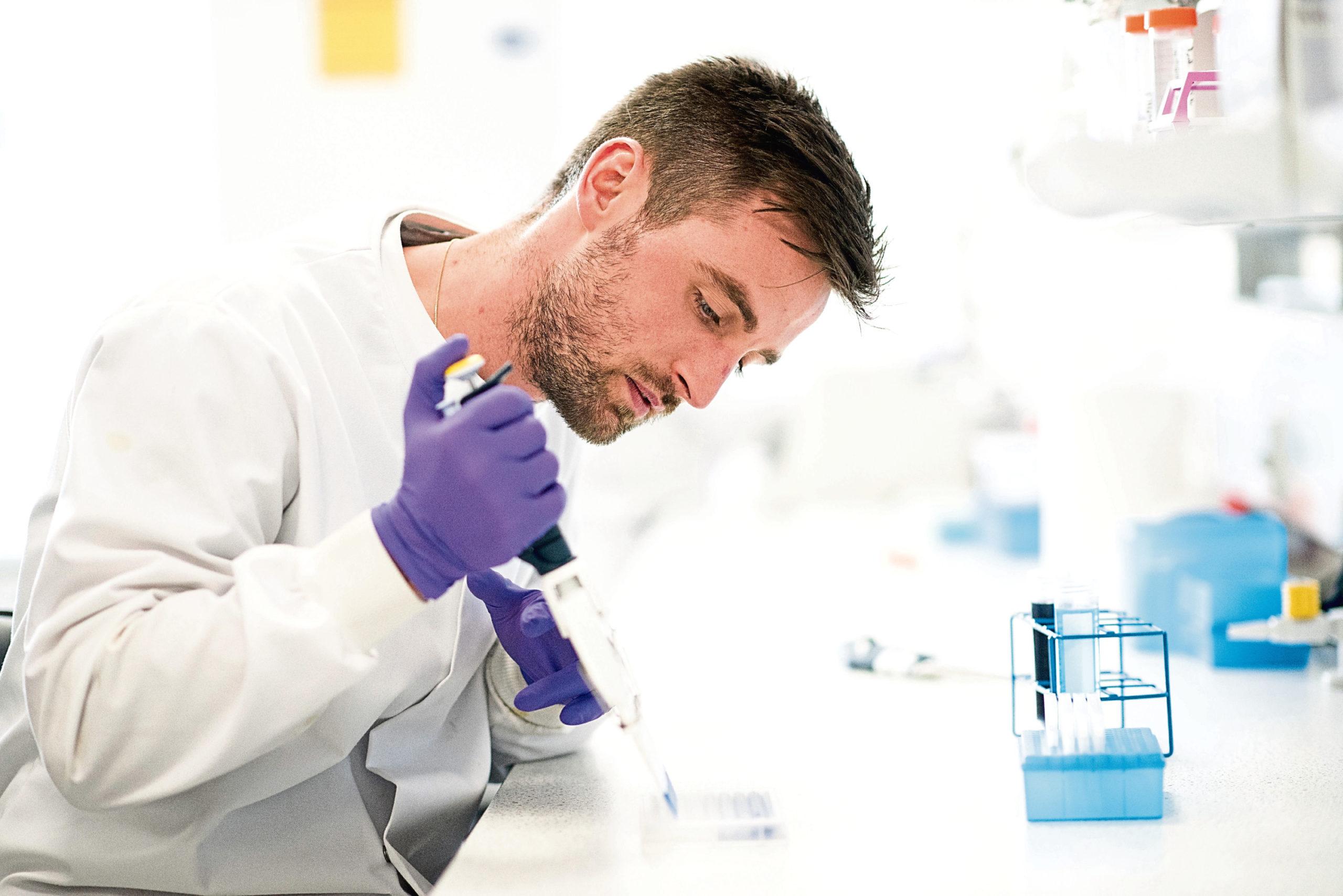 Labwork being undertaken by biotechnology firm 4D Pharma