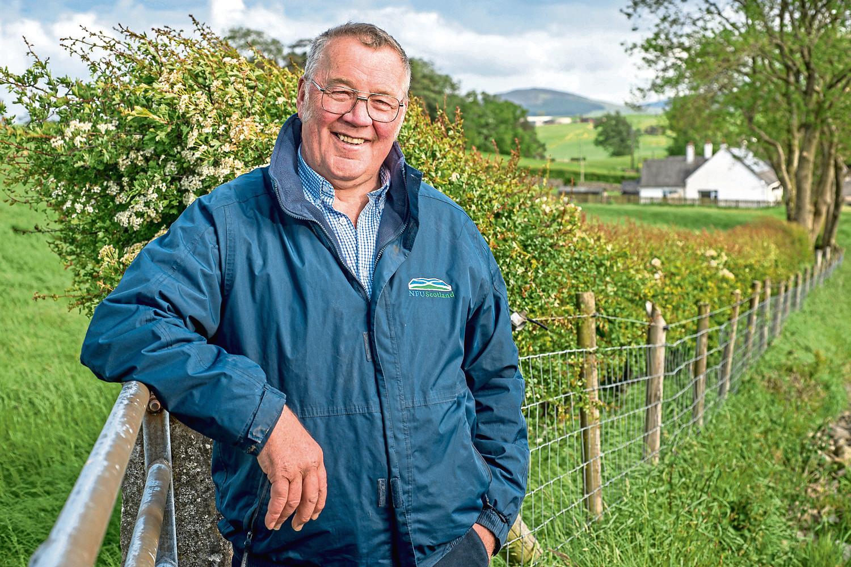 NFU Scotland president, Andrew McCornick.