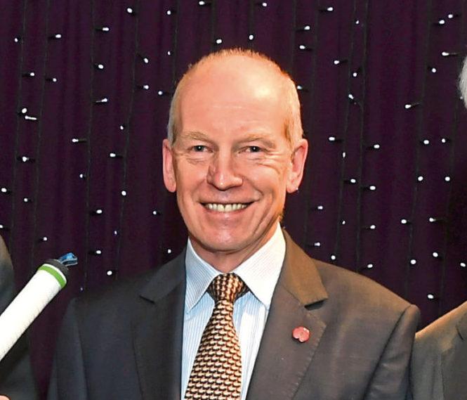 Willie Donald, of Cricket Scotland.