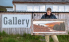 Jack Marris, owner and founder of Applecross Photographic Gallery