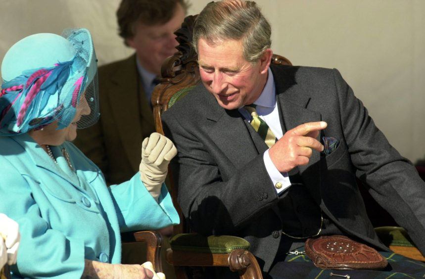 It was the Queen Mother's final public appearance in Scotland