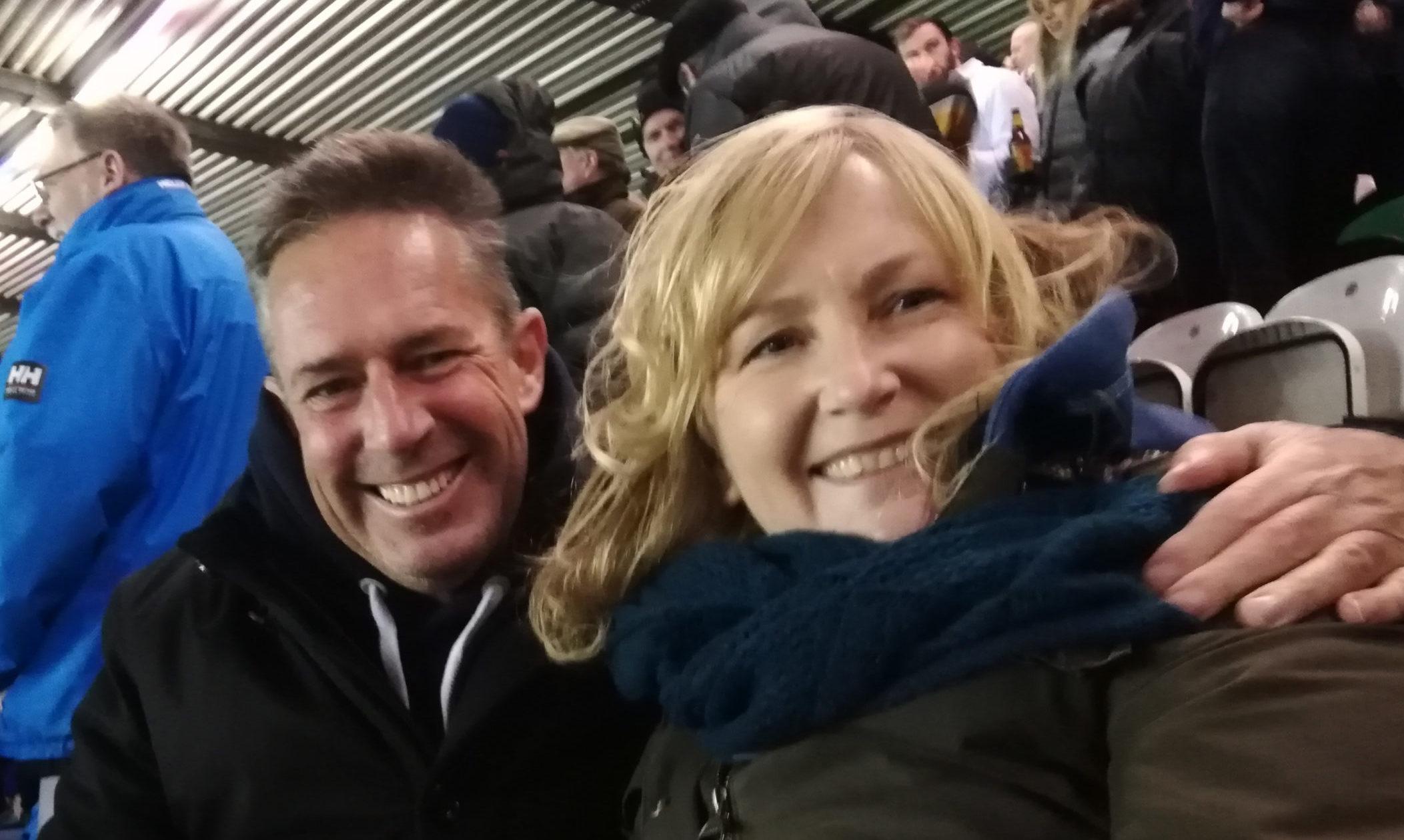 Amanda and Robert Bell are foster carers for Barnardo's Scotland.