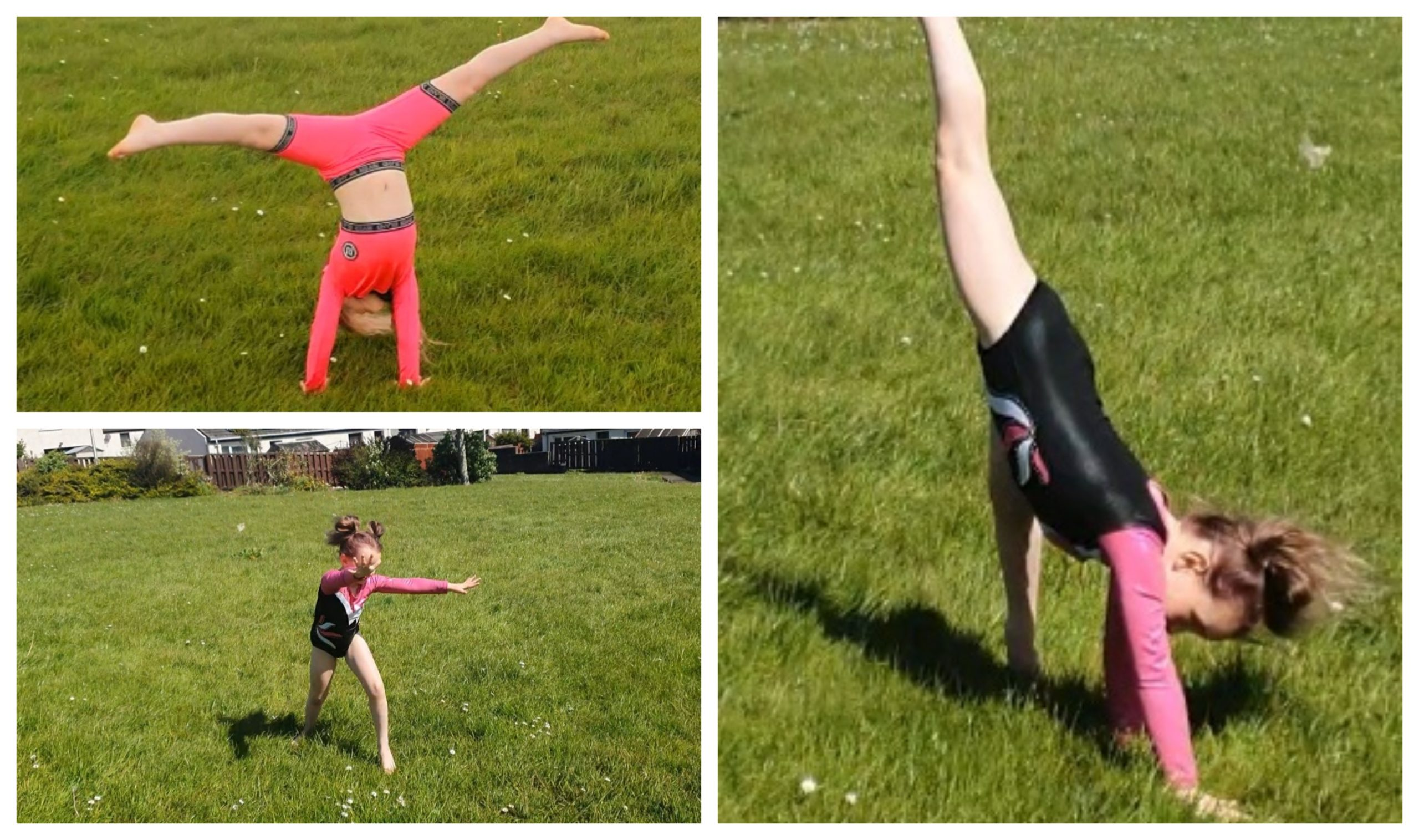 Aimée Wilson plans to do 700 cartwheels to shop her support for the NHS.