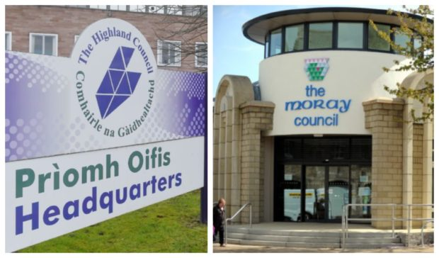 Highland Council and Moray Council are preparing to enter Phase 1.
