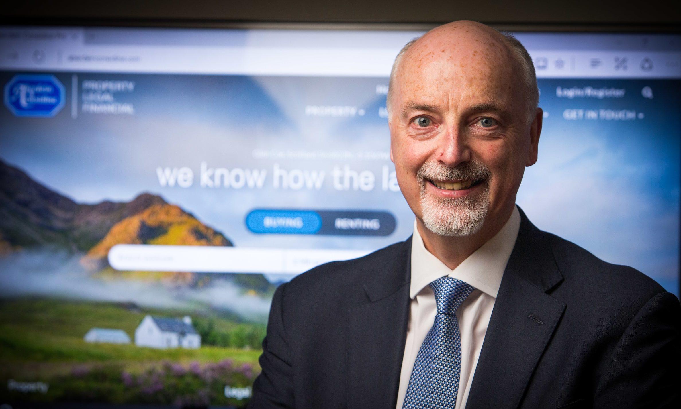Bob Fraser, senior property partner at Aberdein Considine.