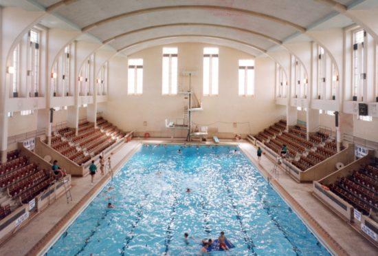 Bon Accord Baths in its heyday.