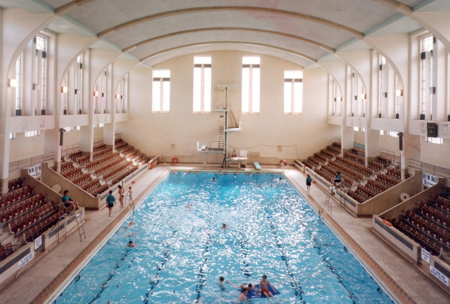 Bon Accord Baths in its heyday.