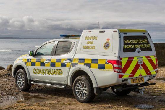 A Coastguard vehicle