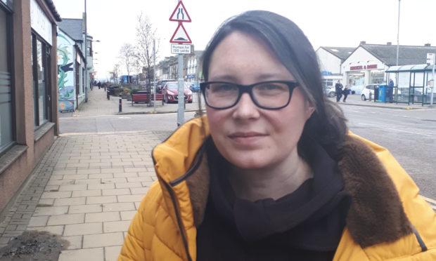 SNP councillor Kirsteen Currie