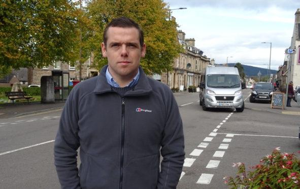 Moray MP Douglas Ross.