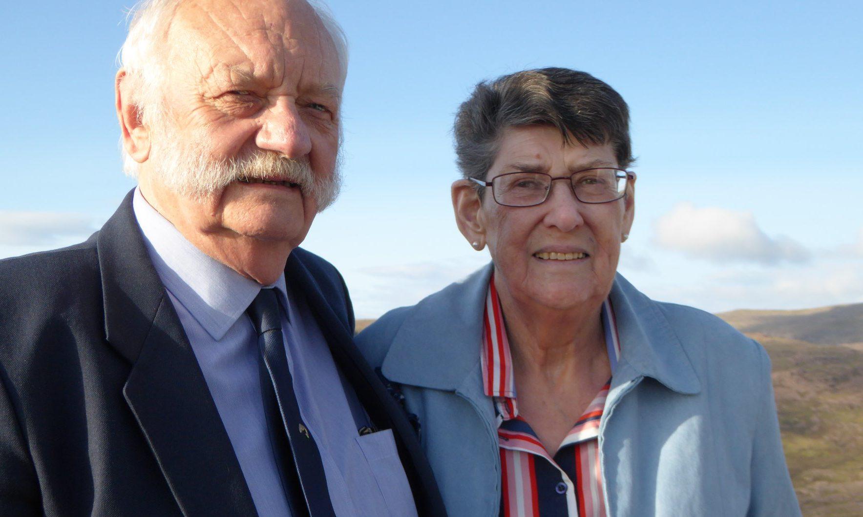 Dan and Ruth Marshall