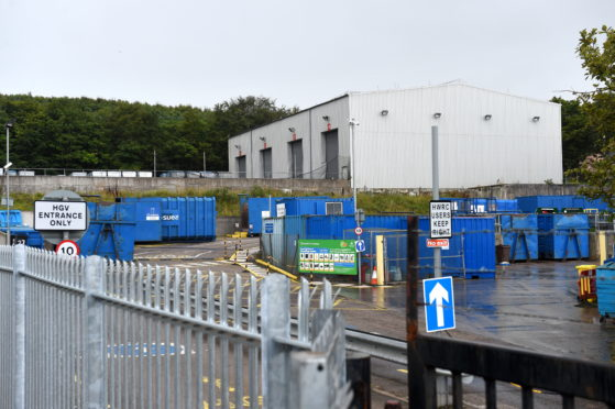 Tullos recycling centre is one of three in Aberdeen to reopen on Monday.