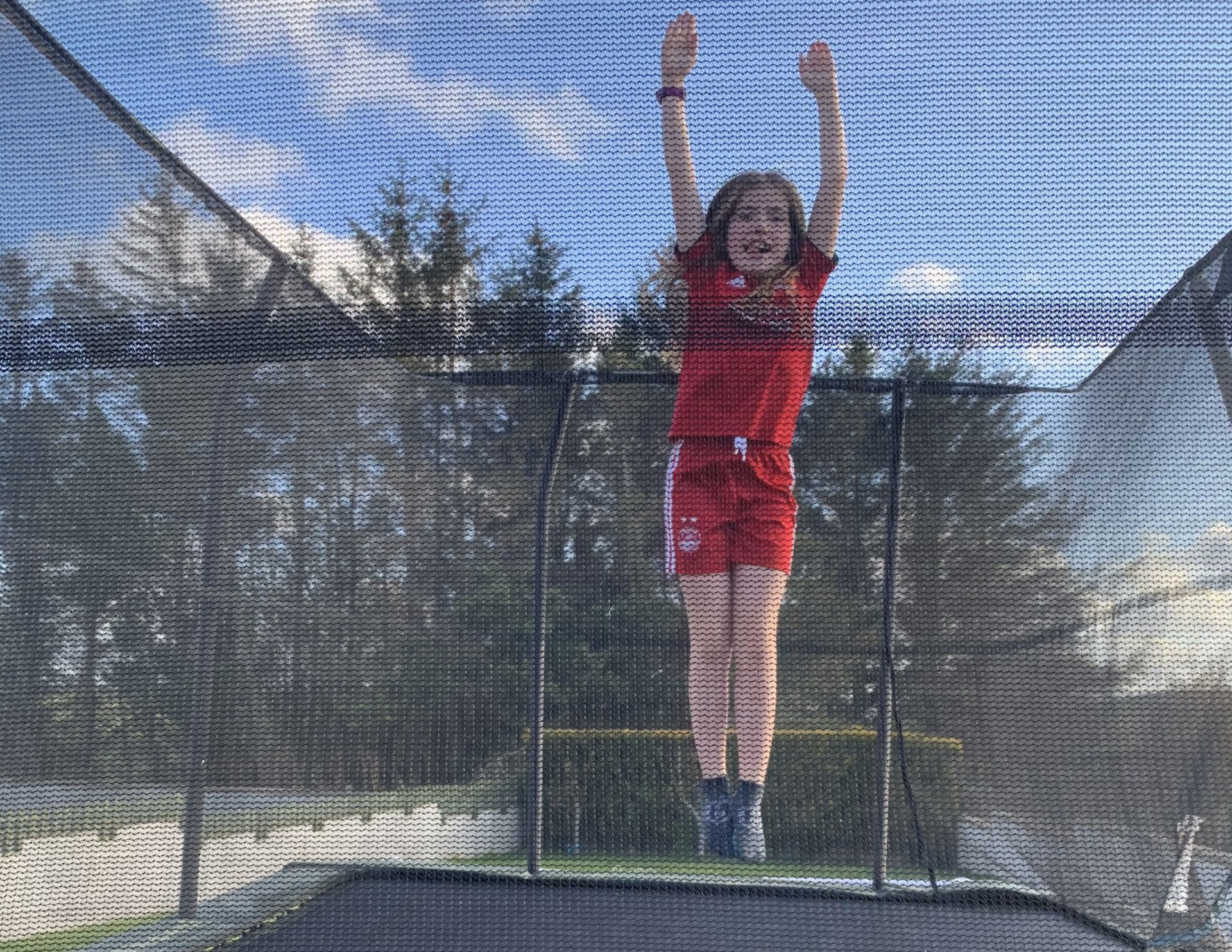 10-year-old Eden Allan is taking on a 10,000 steps a day challenge for The Leanne Fund.