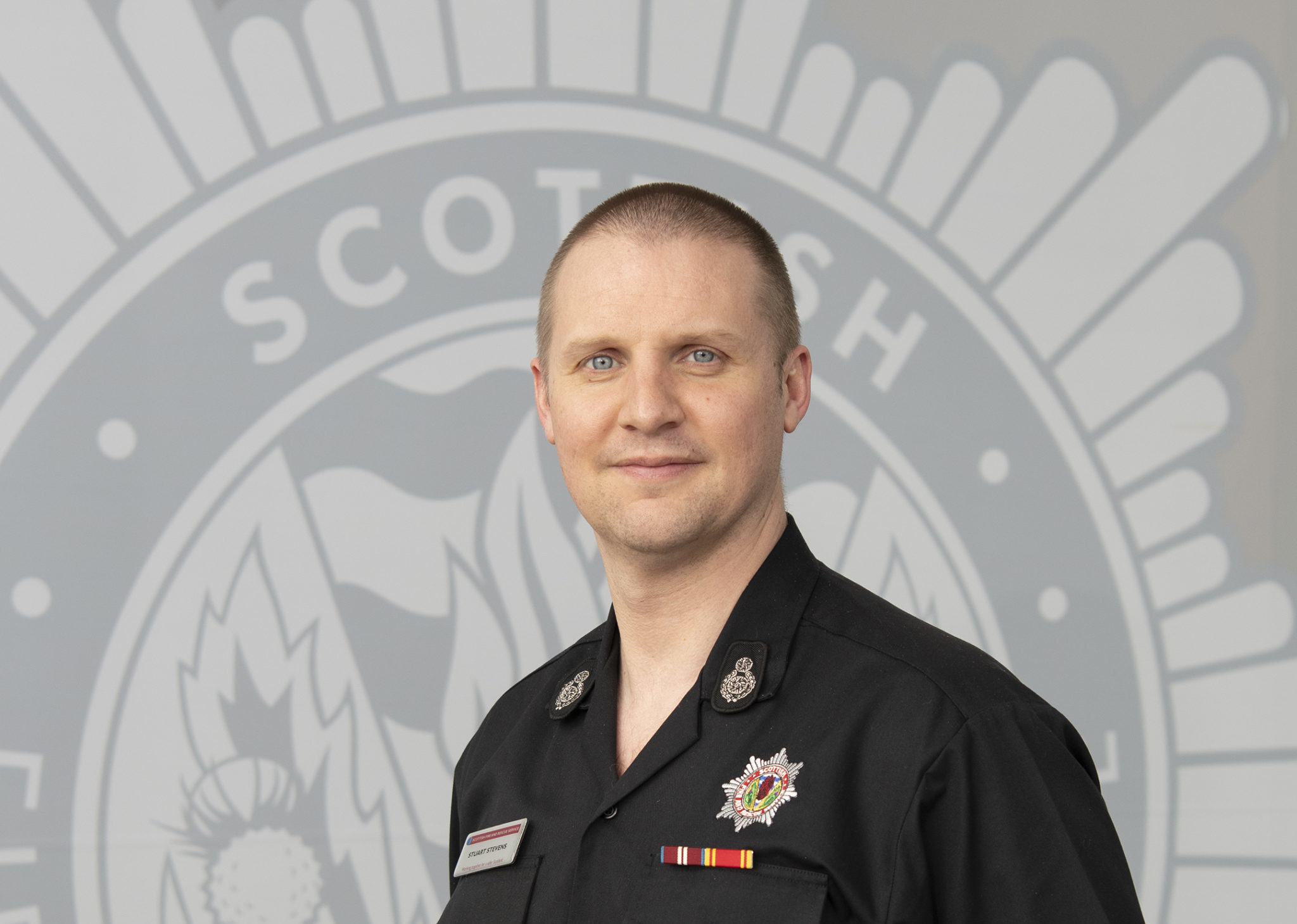 Assistant Chief Officer, Stuart Stevens