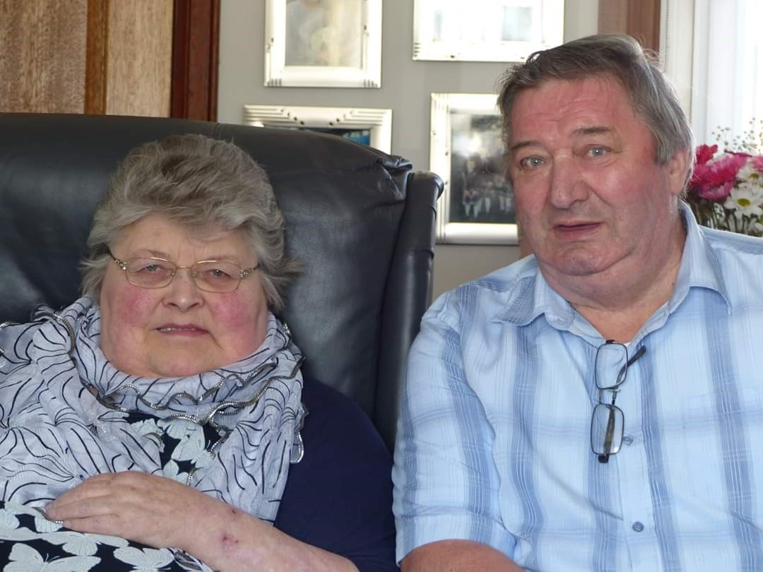 Mrs and Mrs Lawrence had recently celebrated their 48th wedding anniversary.