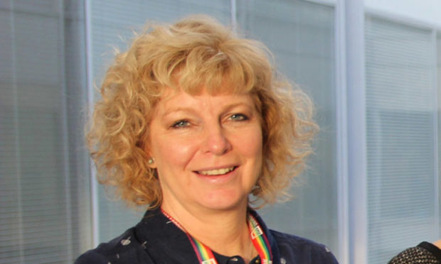 Dr Flora Douglas from Robert Gordon University.