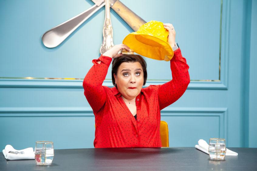 Susan Calman prepares for finals week on Great British Menu.