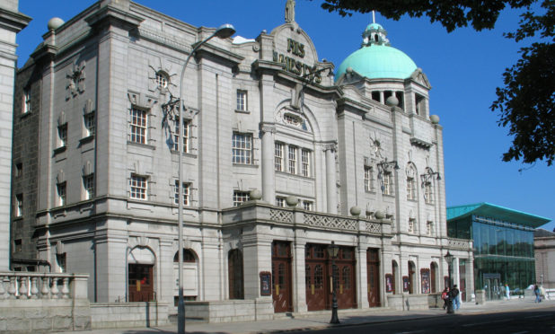 His Majesty's Theatre in Aberdeen.