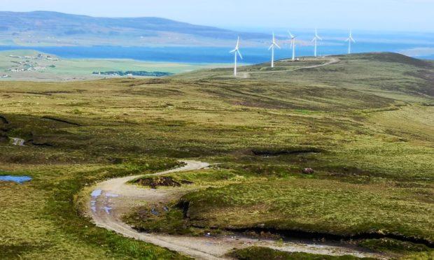 Turbines on Orkney.