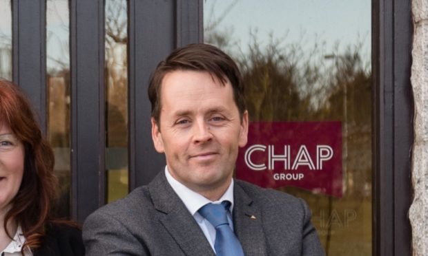 Hugh Craigie, managing director of Chap Group.