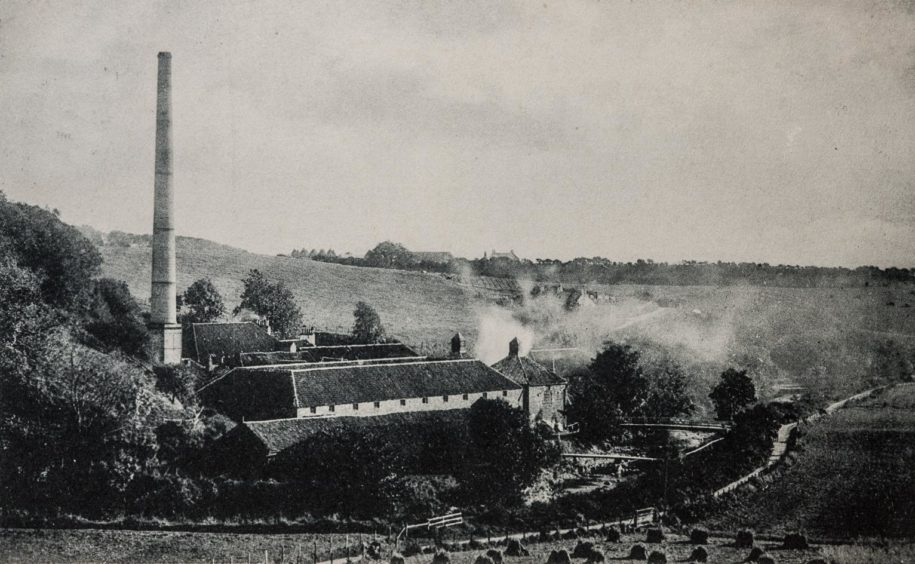 Glenury Royal Distillery as it looked in the early 1900s. Picture courtesy of Martin Sim.