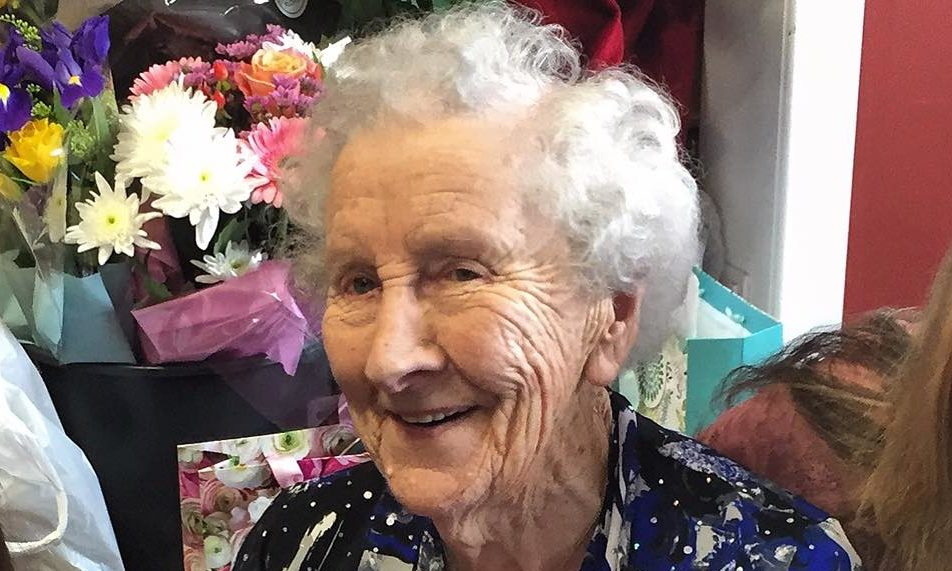 Ina Beaton, who lived to 103 years old, sadly died in Home Farm Care Home on Monday