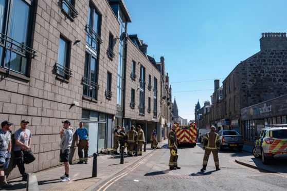 A teenager has been charged following a fire at a property in Fraserburgh