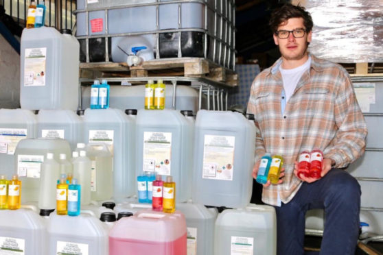 Marko Steiger set up Palm Safe, based in Peterhead, after being made redundant due to the oil price crash.
