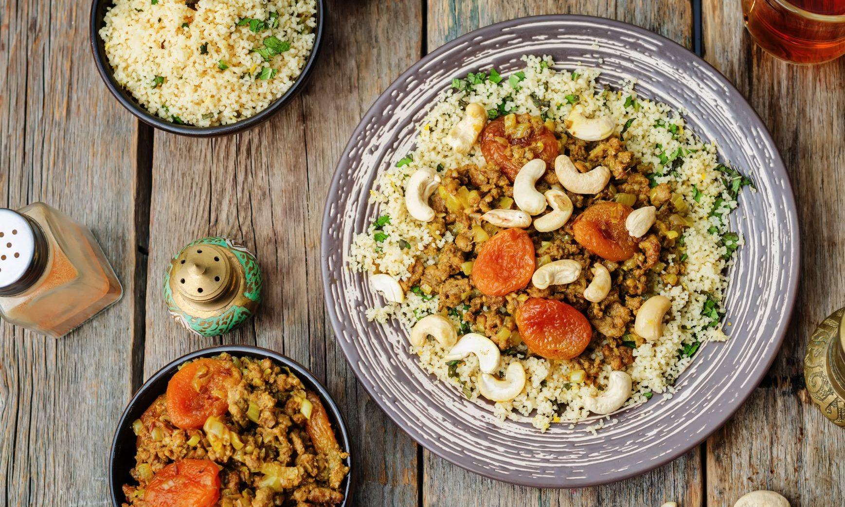 Moroccan lamb mince recipe