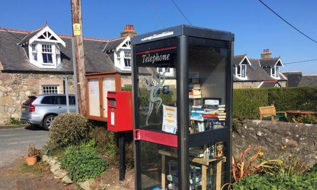 Muchalls phone box library