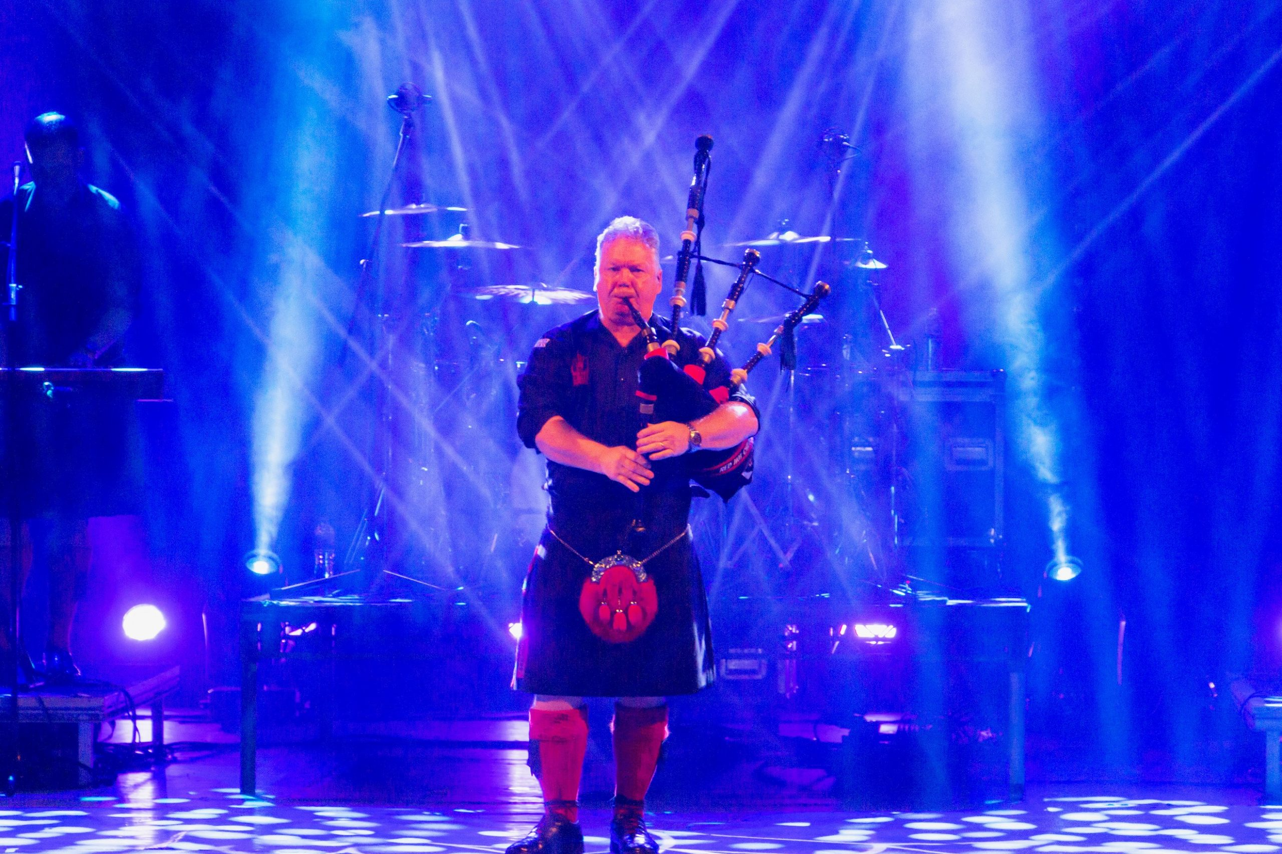 Willie Armstrong has joined a St Valery piping initiative. Pic: Poppyscotland/LegionScotland.