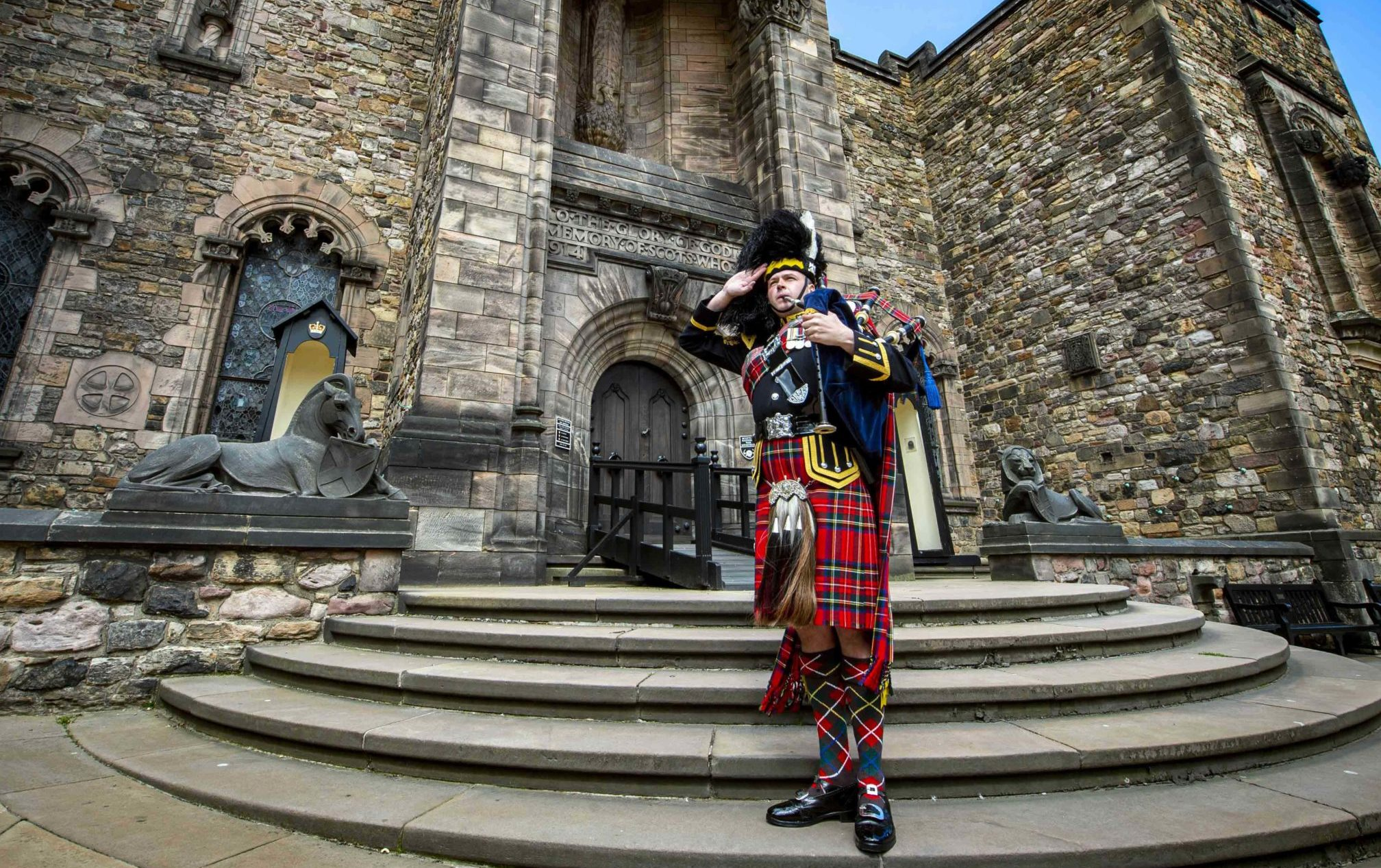 Pipers will commemorate the victims of St Valery on June 12.